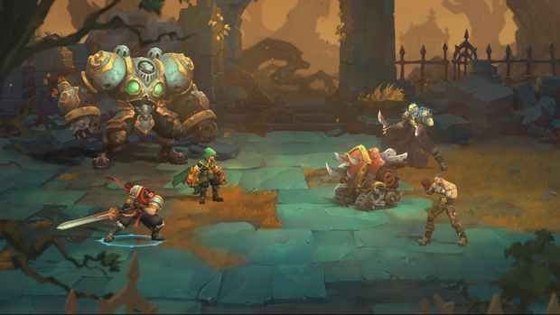 Battle-Chasers-Nightwar-PC-Crack