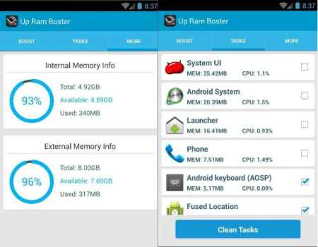RAM Memory Booster Apk
