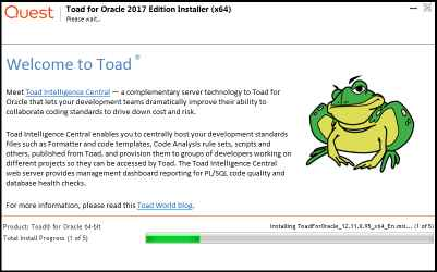 Toad for Oracle 2017 Edition