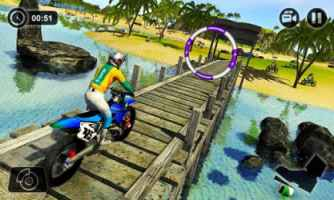 Beach Water Surfer Bike Racing Apk
