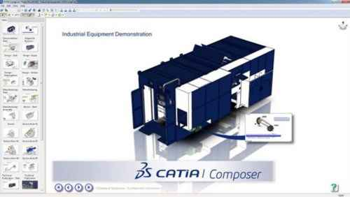 DS CATIA Composer R2018