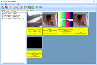 PCWinSoft Multiple Camera Monitor
