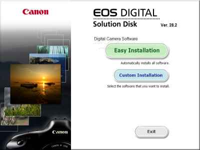 Canon EOS Digital Solution Disk Software (2)