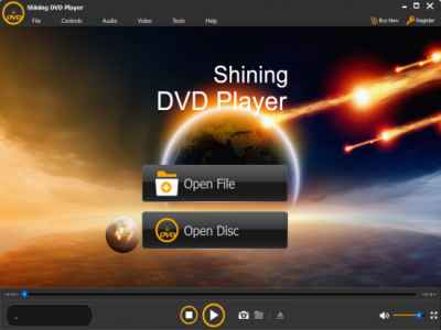 Shining DVD Player