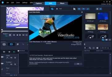 Corel VideoStudio Ultimate 2018