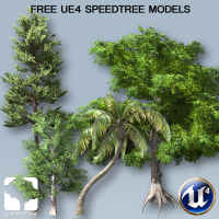 Free Speedtree Model Bundle for UE4 Subscrıptıon