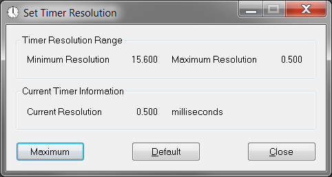 TimerResolution İndir v1.2 program indir